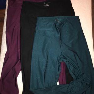 3 pairs Bally leggings!  Never worn.